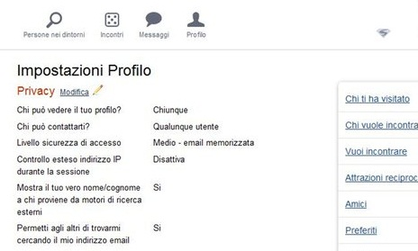 password badoo dimenticata