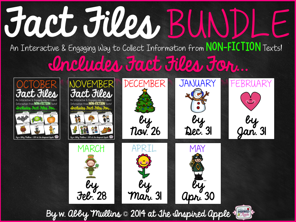 Fact Files Growing Bundle