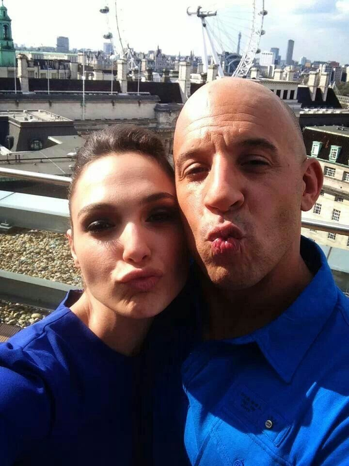 Who Knew that Gal Gadot and Vin Diesel are Very Close Friend