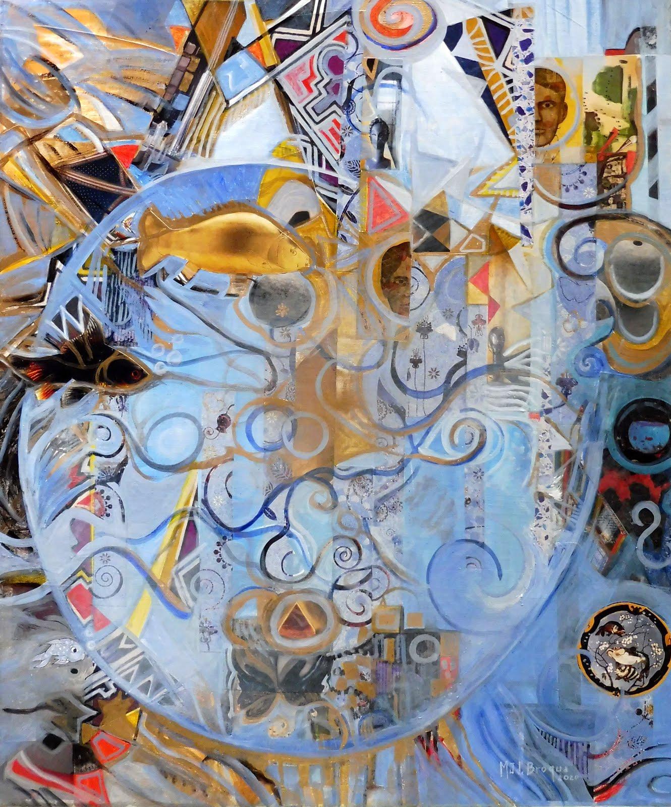 Bulles de rêves - 46 x 55 cm - 2020
