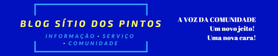 #BlogSítioDosPintos - A Voz da Comunidade!