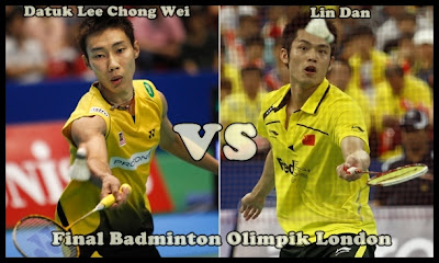 Lee Chong Layak Ke Final Badminton OLimpik London 2012