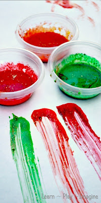 Fall Finger Paint Recipe