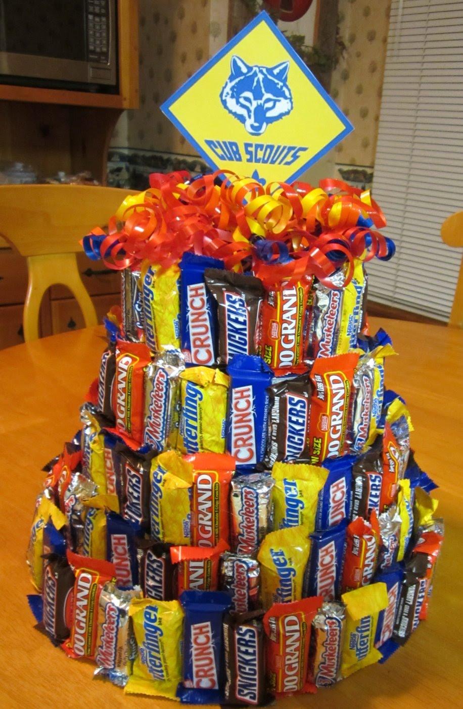 Candy Bar Birthday Cake Ideas