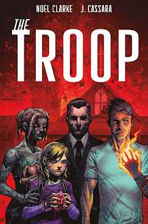 Cover for The Troop #1