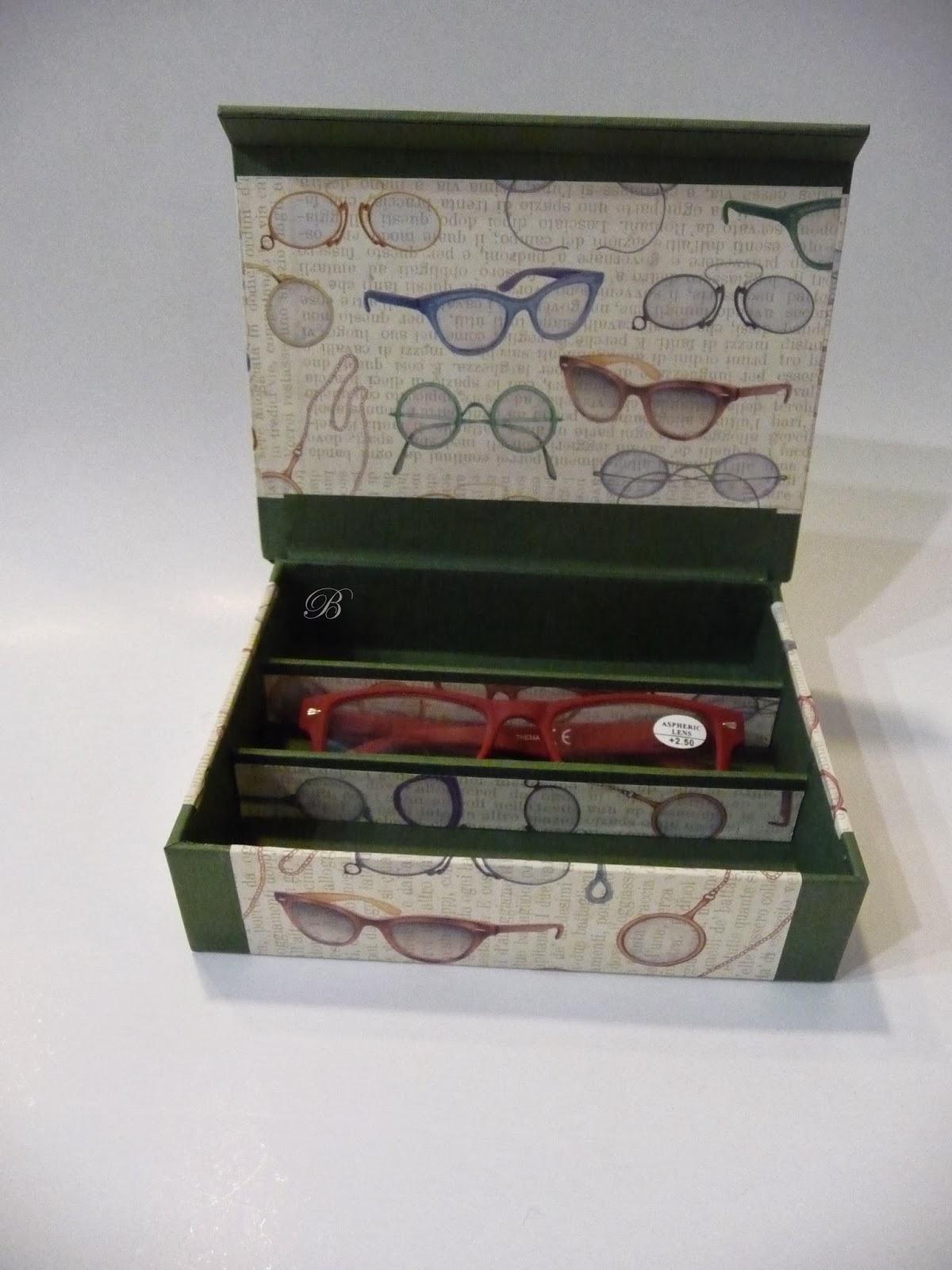 Las manualidades de blanca caja para gafas - Cajas de carton bonitas ...