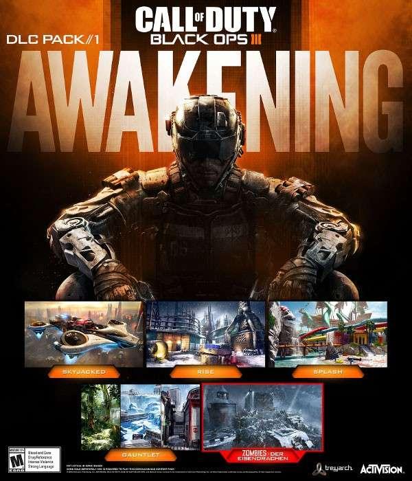 DLC Awakening para Call of Duty: Black Ops 3 saldrá a inicios de 2016