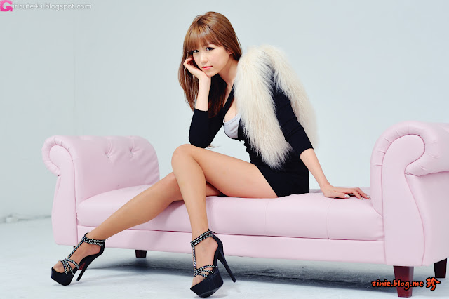 1 Lee Eun Hye in Mini Dress - Close-up-Very cute asian girl - girlcute4u.blogspot.com
