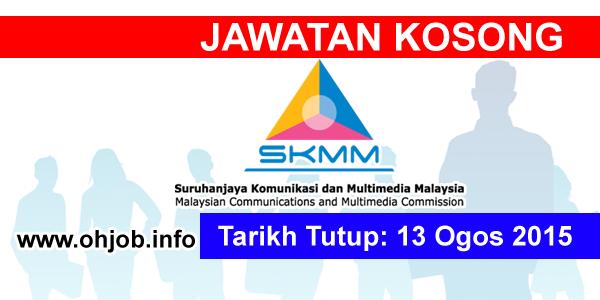 Jawatan Kerja Kosong Malaysian Communications and Multimedia Commission (MCMC) logo www.ohjob.info ogos 2015