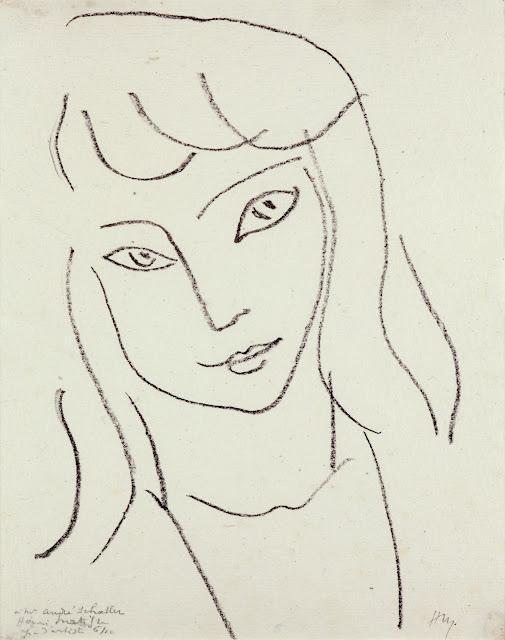 Dibujo de lineas de Henri Matisse