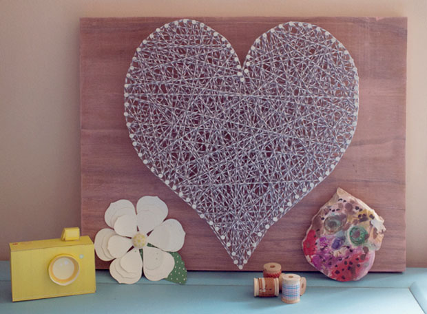 Wedding Gift String Art : Prairie Sage : Wedding String Art
