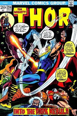 Thor #214, Mercurio