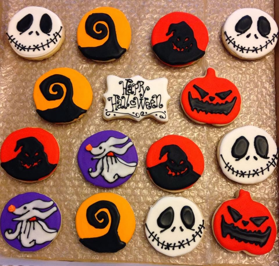 Bee'in Creative With Cookies by Julie : Nightmare Before Christmas ...