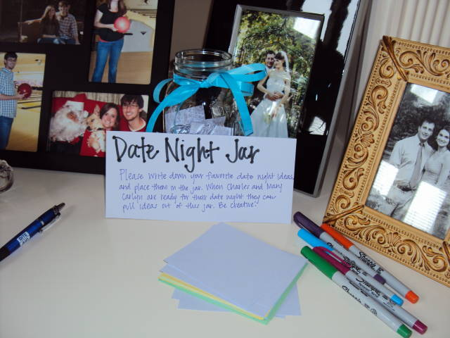 Date Night Wedding Shower Gift : Date Night Jar Ideas Images & Pictures - Becuo