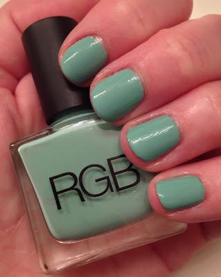 RGB, RGB Cosmetics, RGB Cosmetics Minty, #ManiMonday, mani monday, manicure, nails, nail polish, nail lacquer, nail varnish