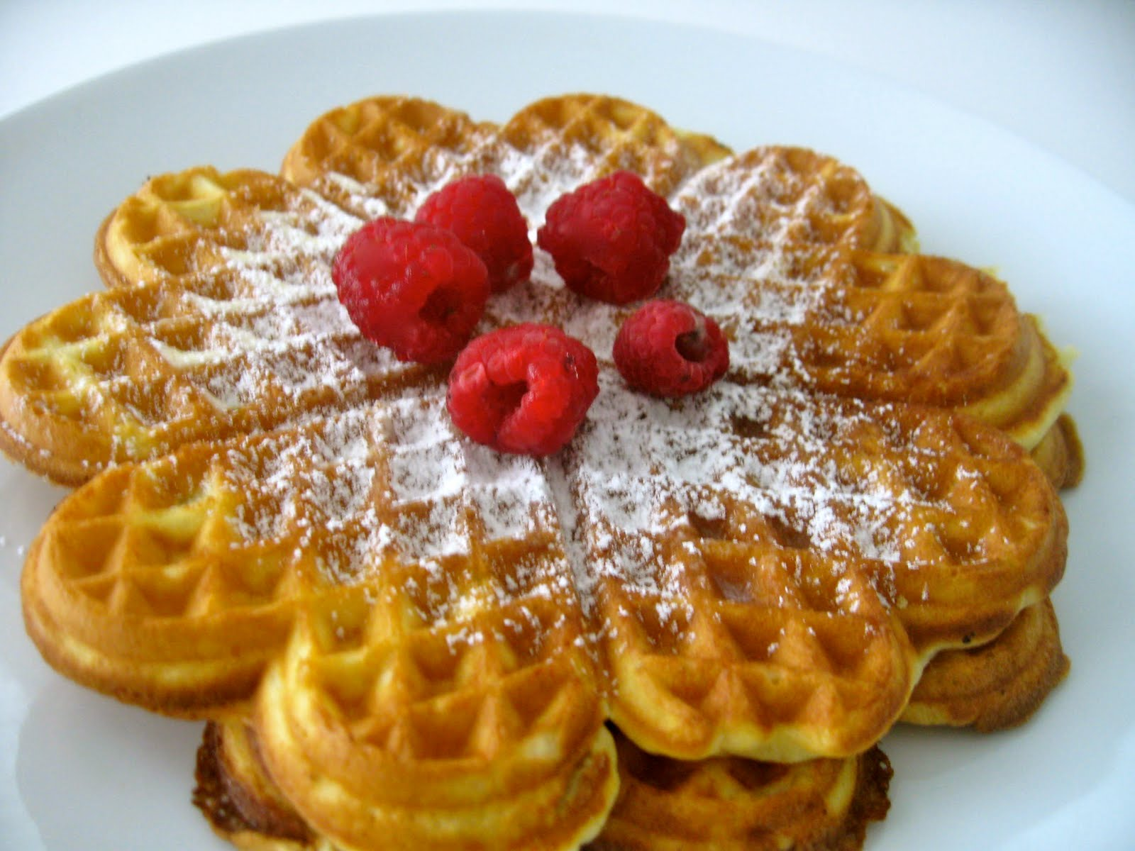 Vanilla Buttermilk Waffles | Sugar Baking Blog