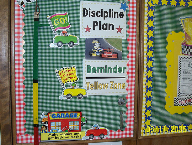 Classroom Punishment Ideas ~ Racing themed classrooms clutter free classroom