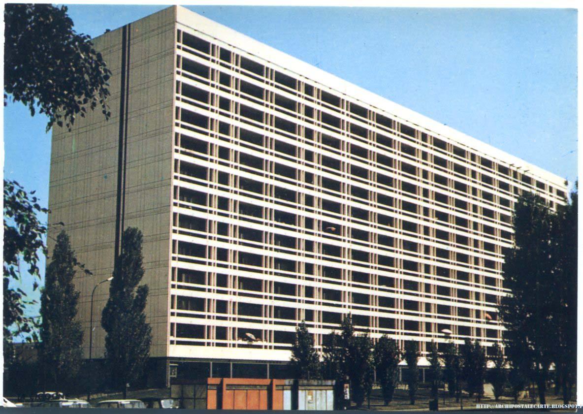 Architectures de cartes postales 2 dubuisson uckange grille chatoyante - Jean dubuisson architecte ...