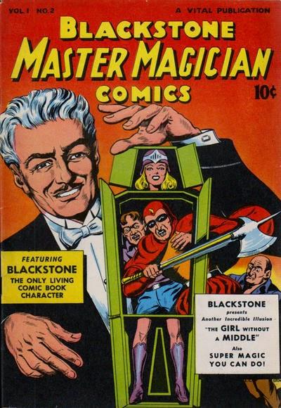 Blackstone Master Magician Comics #2