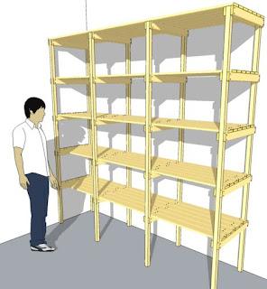 Wood Storage Shelf Plans Free