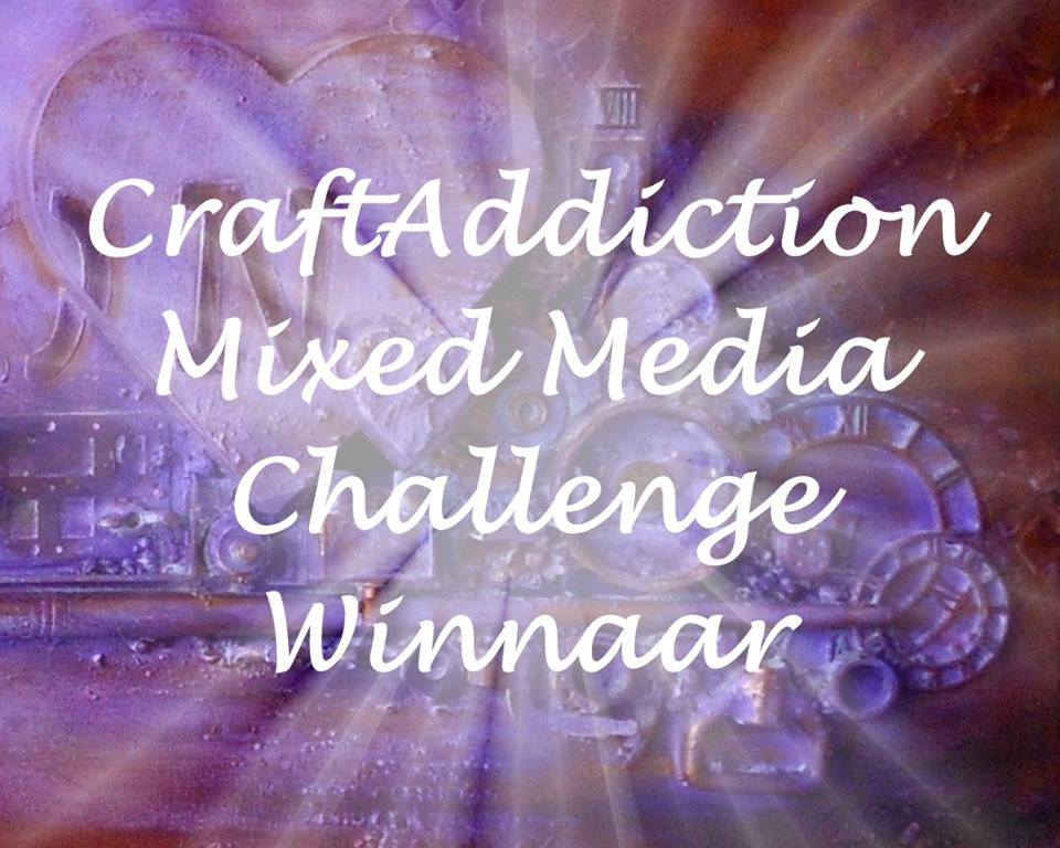Winnaar December 2018 challange CraftAddiction