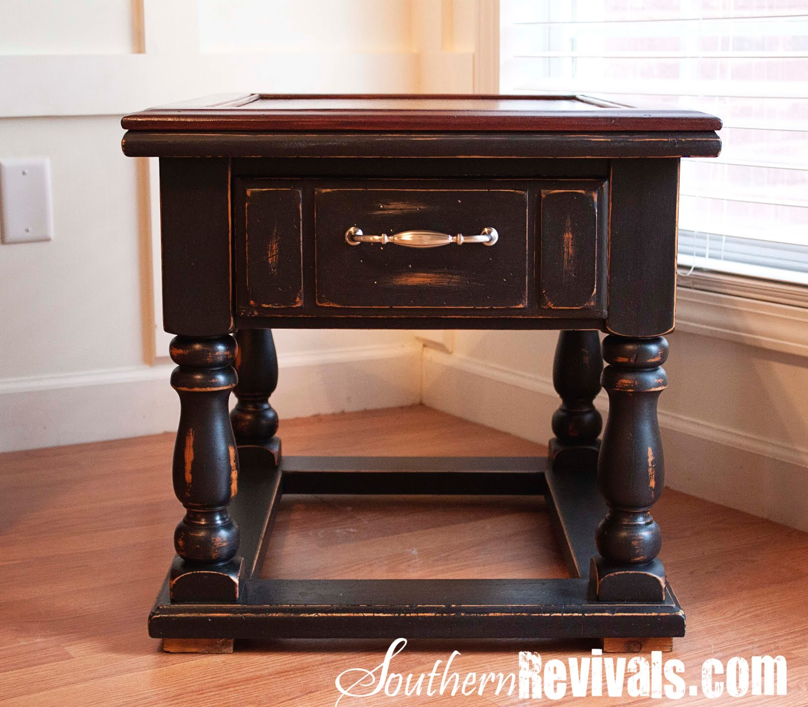 Pottery Barn Inspired Coffee Table & End Table Makeover Southern