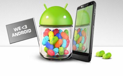 Terminales que actualizarán a Android 4.1 de Motorola