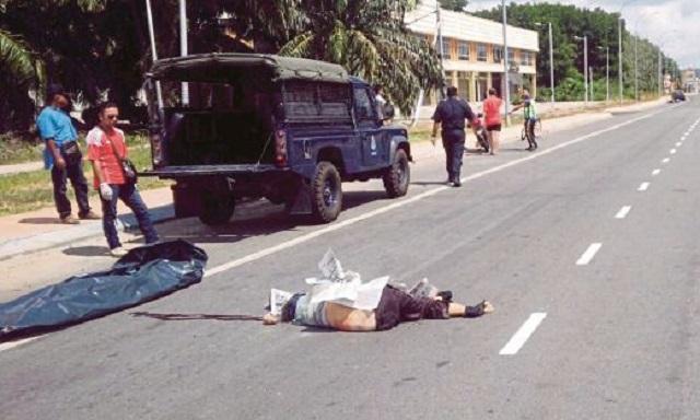 Wanita maut di lokasi sama kemalangan yang meragut nyawa suaminya
