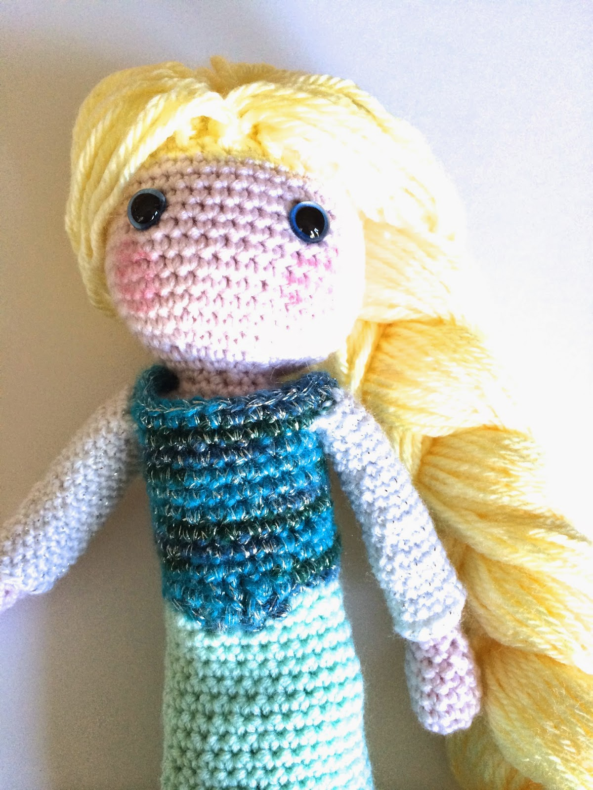 Elsa Crochet Doll Free Tutorial Annoos Crochet World ...
