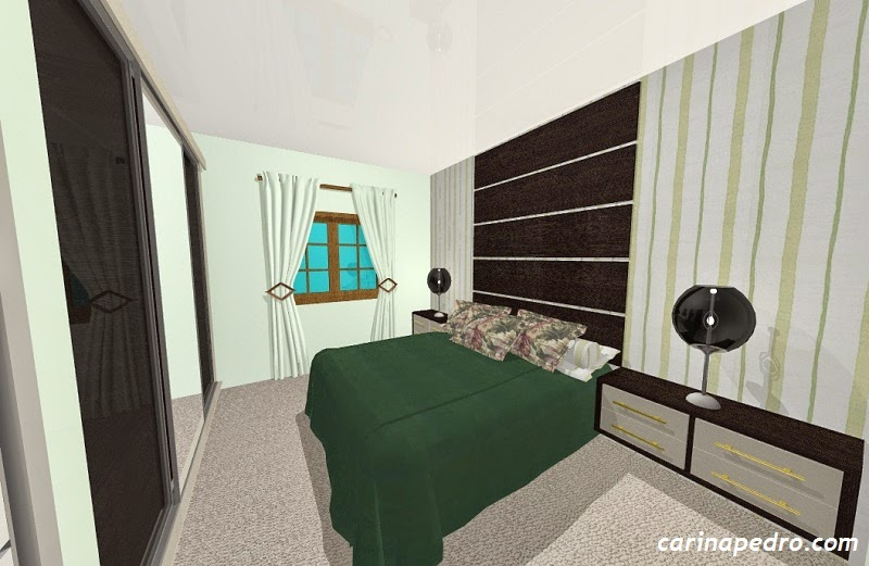 projeto de quarto de casal - blog Carina Pedro