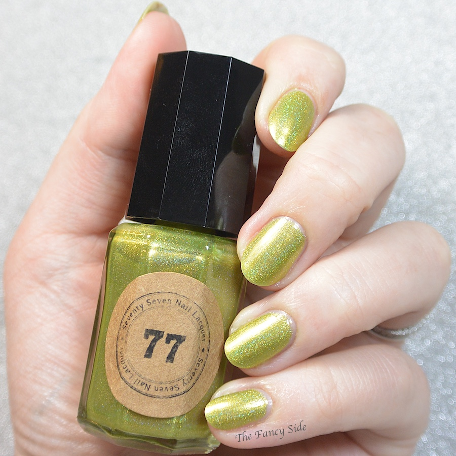How To Make Olive Green Nail Polish: The Fancy Side: Inspired By: Daisy Print