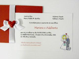modelos de convites de casamento baratos para casamento