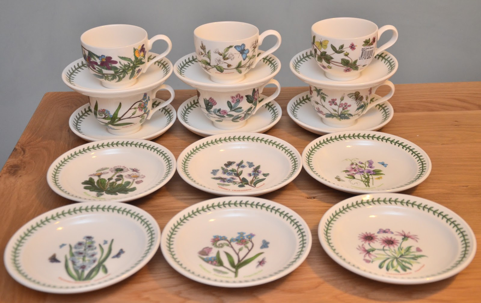 Kitch 39 N 39 Chic Portmeirion Botanic Garden 18 Pcs Tea Set
