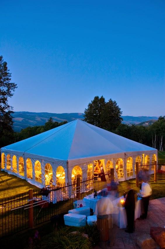 elizaj portable restrooms wedding tent