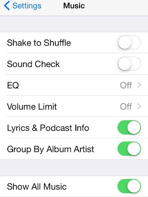 Delete Music iPhone 6