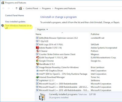 Cara Menonaktifkan Fitur Windows Media Player