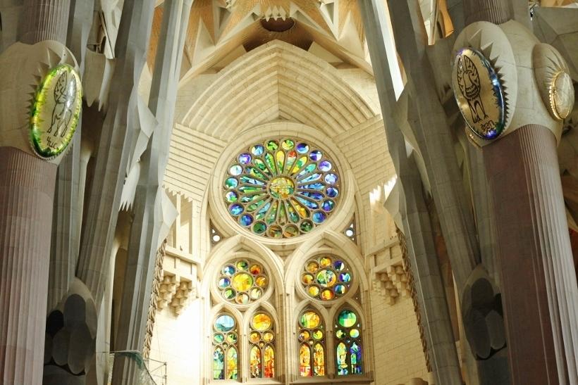 Sagrada Familia Barcelona Inside