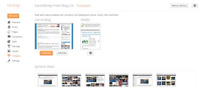 New Blogger.com