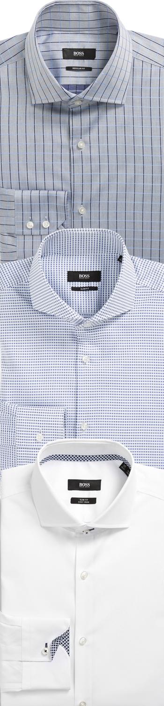 Assorted BOSS HUGO BOSS DRESS Men's Dress Shirts
