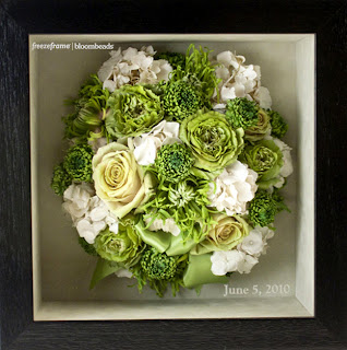 Frame Your Wedding Flowers Preserved Wedding Bouquets