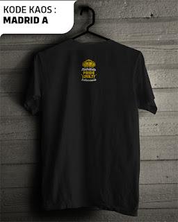 Kaos distro bola real madrid murah