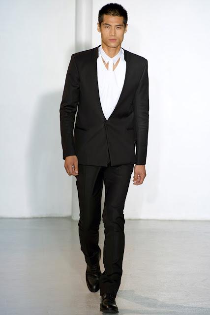 Paris Men's Fashion Week 2012 Spring 2013 Blacks and Whites