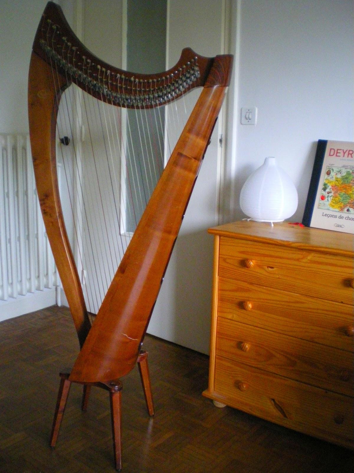 Les harpes location de harpe celtique d 39 occasion - Housse de harpe celtique ...