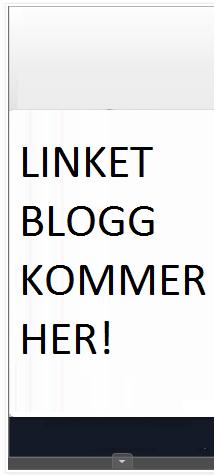 LINKET BLOGG KOMMER!