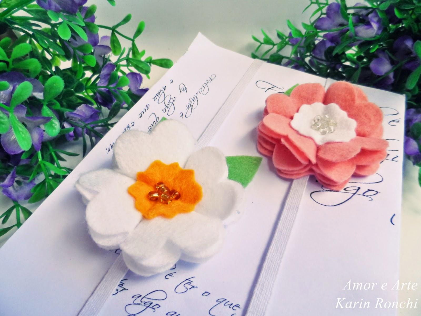 Marcador de página - Jardim encantado
