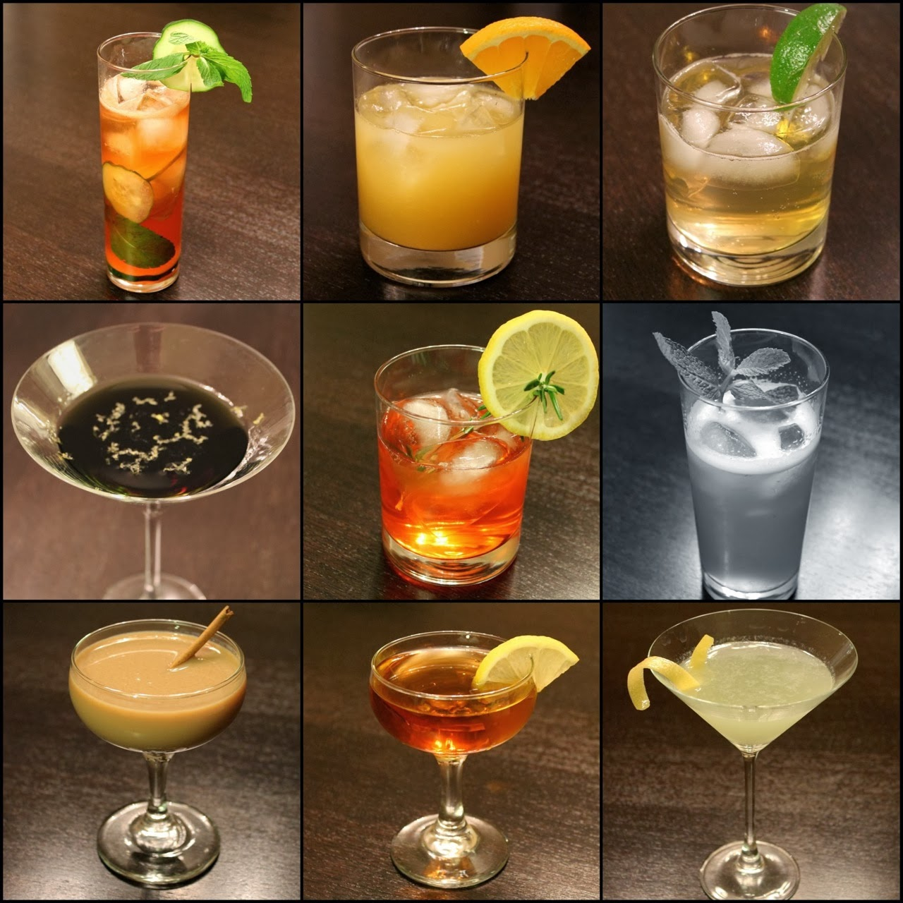 Oscar Cocktails