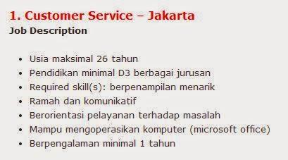lowongan kerja bank bumi artha agustus 2014 makassar