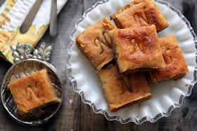 almond five spice baklava recipe from cherryteacakes.com
