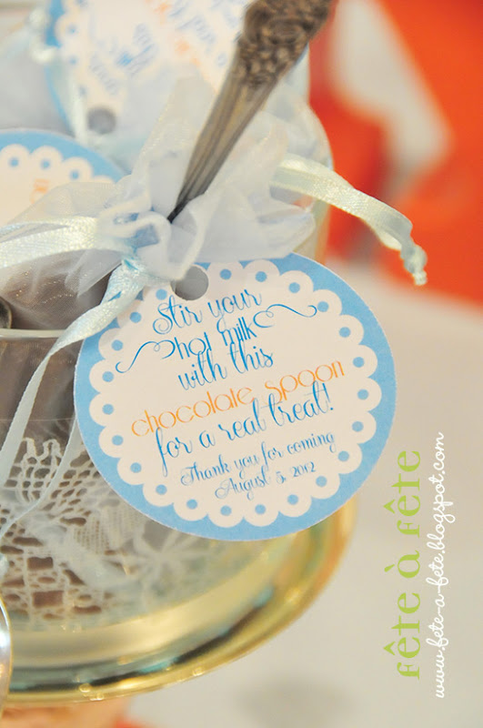 f te f te unique practical baby shower favor chocolate