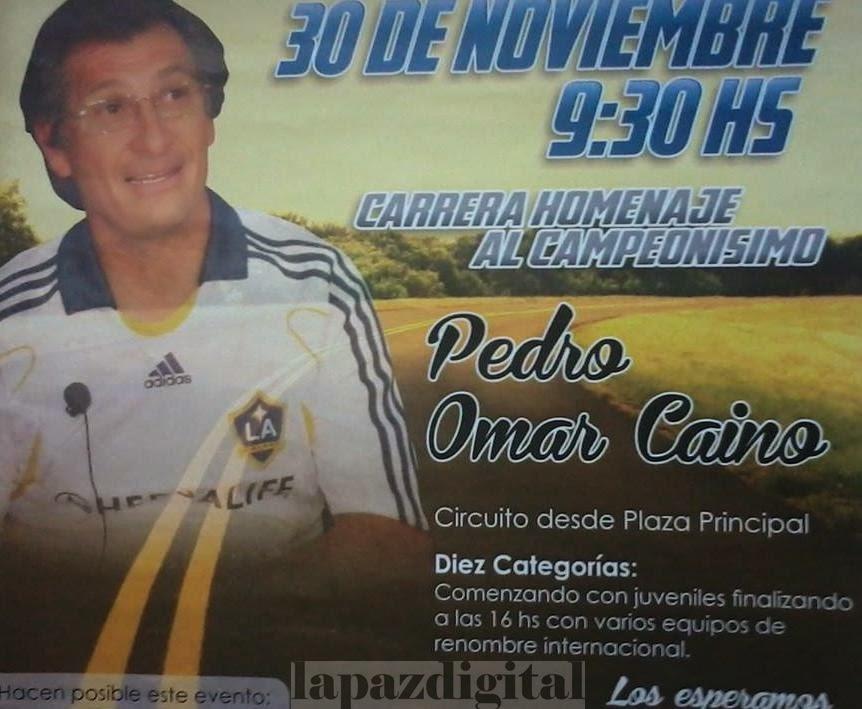 Se viene el Gran Premio Homenaje a Pedro Omar Caíno